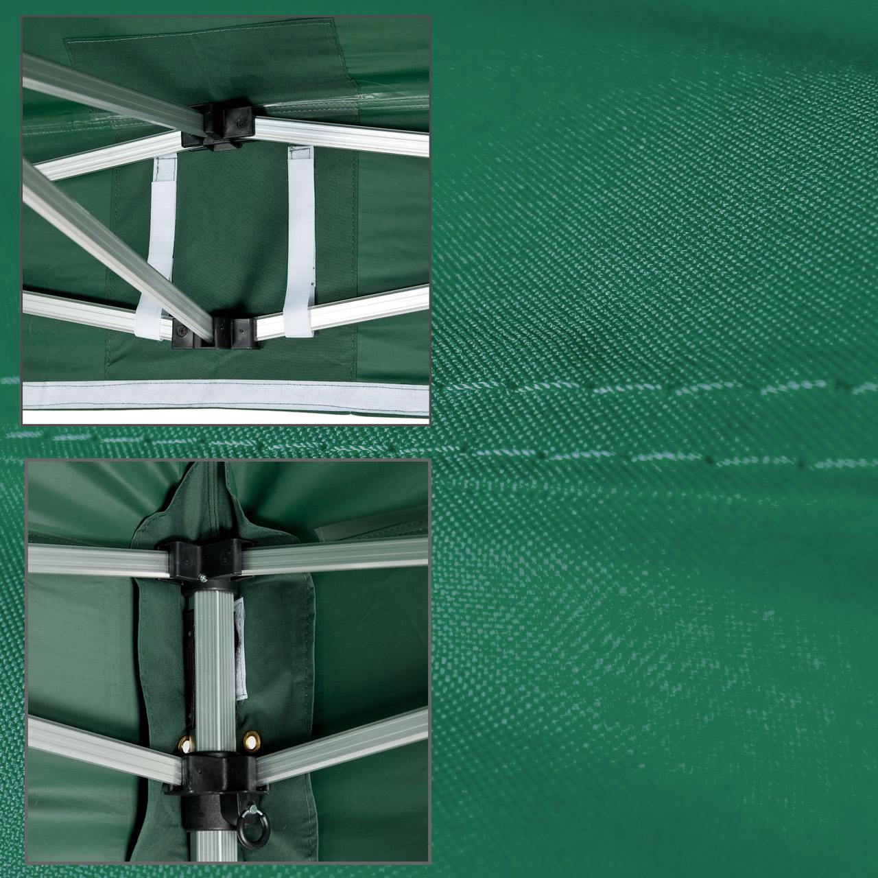Faltpavillon-3x3-Plane-gruen