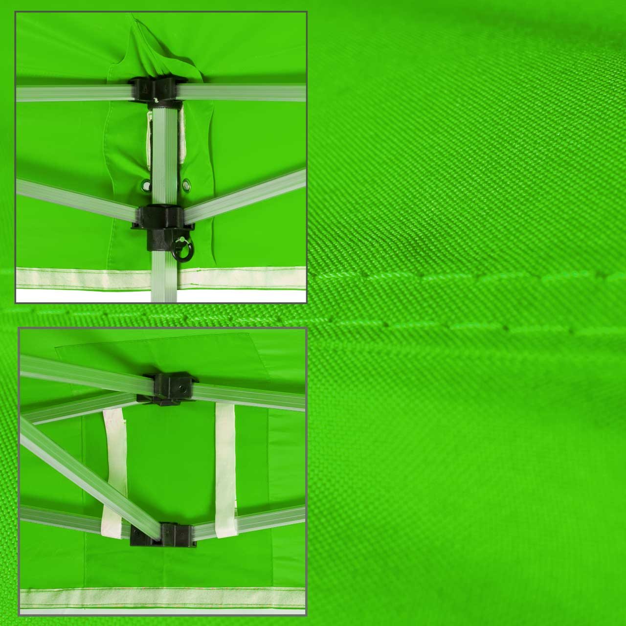 Faltpavillon-Dach-lime