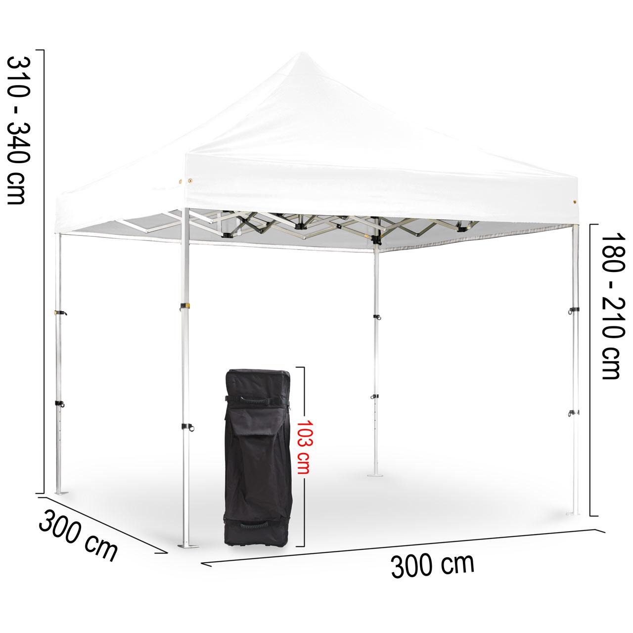 Faltpavillon-3x3-mobil-Abmessungen