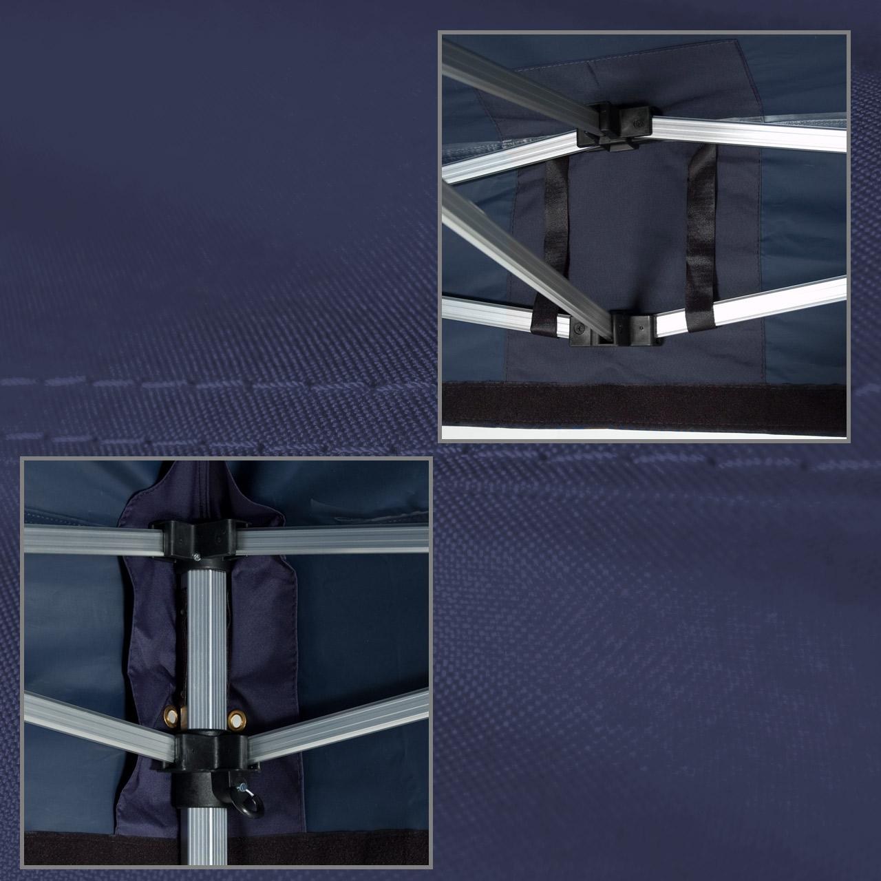 Faltpavillon-3x3-blau-Plane